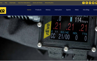rEvo Rebreathers Website
