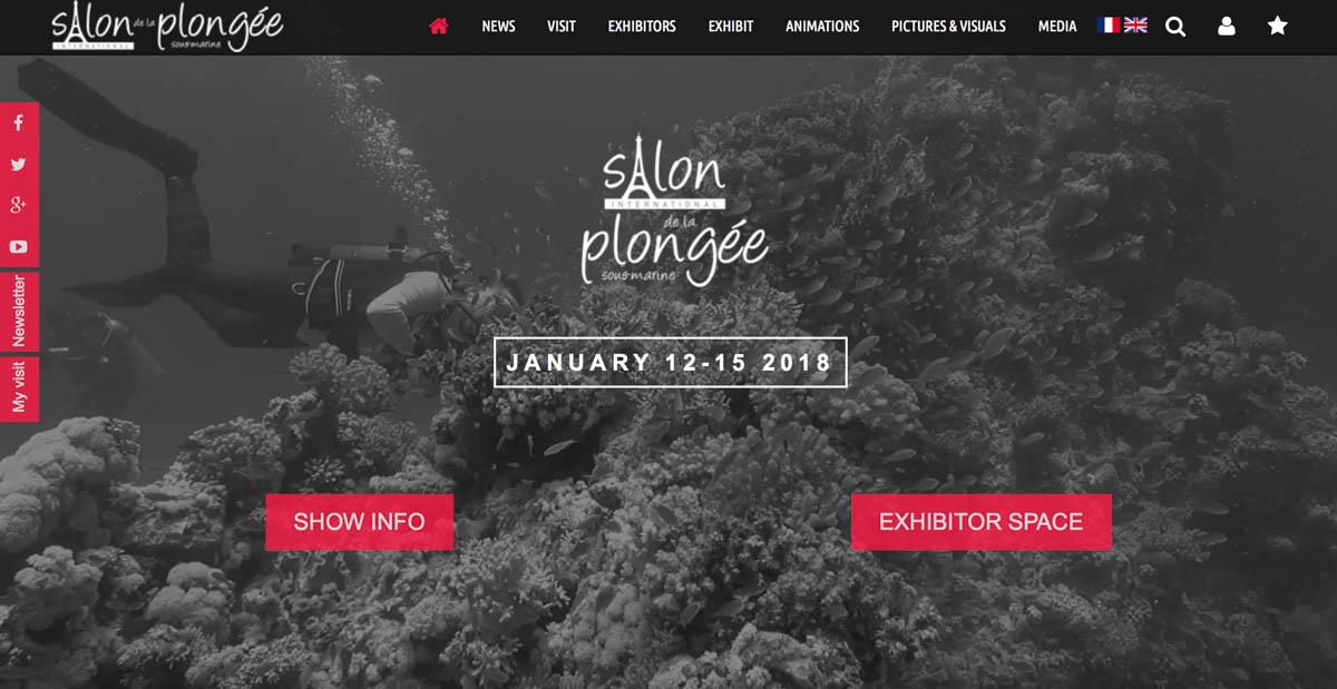 Salon de la plong e paris dive show 2018 revo rebreathers for Salon ce paris